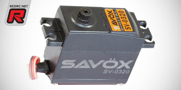 Savöx compact case & HV RTR servos