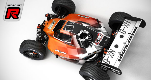 Vrc Pro Column 1 8 Nitro Buggy Red Rc