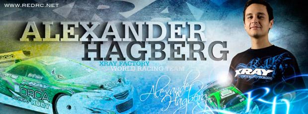 Alexander Hagberg renews with Xray
