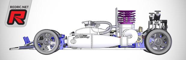 KM Racing K8 1/8th on-road kit