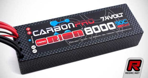 Team Orion Carbon Pro 8000mAh 90C pack