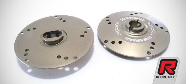 Team Durango 210 series vented slipper plates