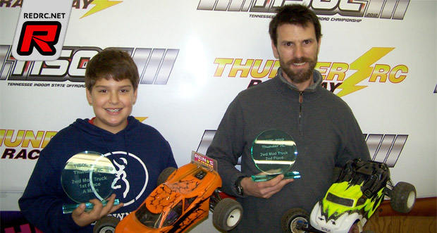 Sinclair & Noia win Tennessee Indoor State Champs