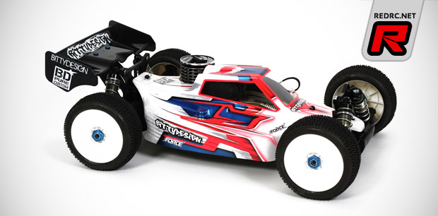 Bittydesign RC8.2 Force 2.0 shell