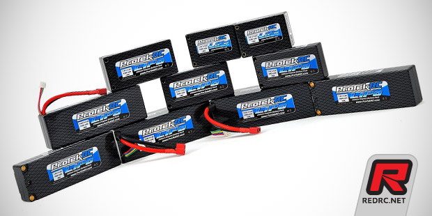 ProTek Supreme Power 100C LiPo batteries