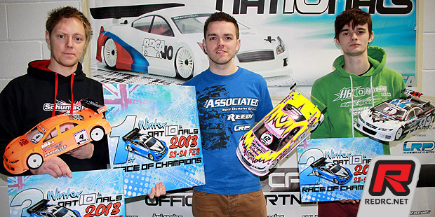 Olly Jefferies wins BRCA Winter National