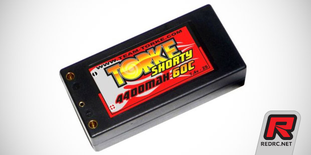 Team Torke 4400mAh Shorty LiPo pack