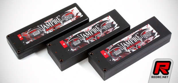 Vampire Racing 2013 LiPo packs