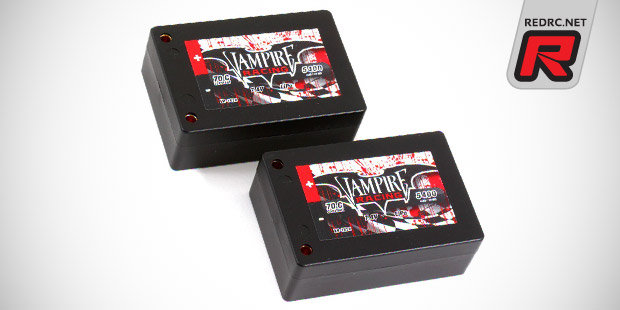 Vampire Racing 5400mAh 70C Saddle Pack LiPo