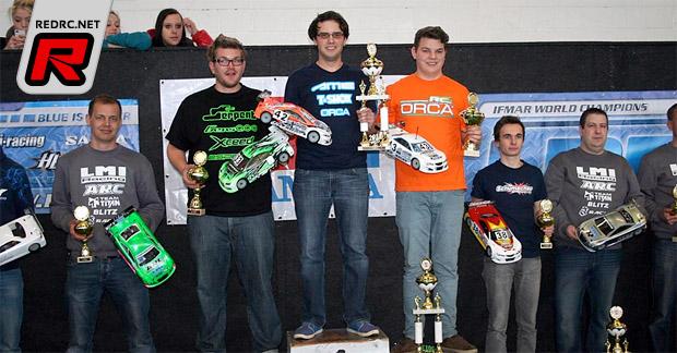 Prumper & Vogel take German Indoor titles