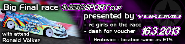 Mibosport Cup Rd8 – Announcement