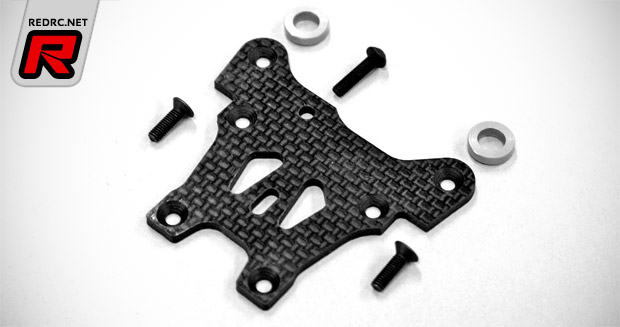 Mugen MBX7 graphite front steering plate