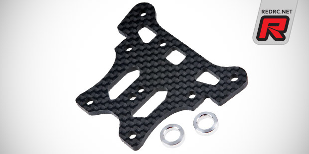 RT carbon fibre upper steering plate
