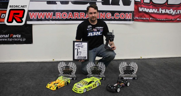 Josh Cyrul triple at 2013 ROAR Nationals