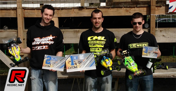 Yannick Aigoin double at French EP Nats Rd2