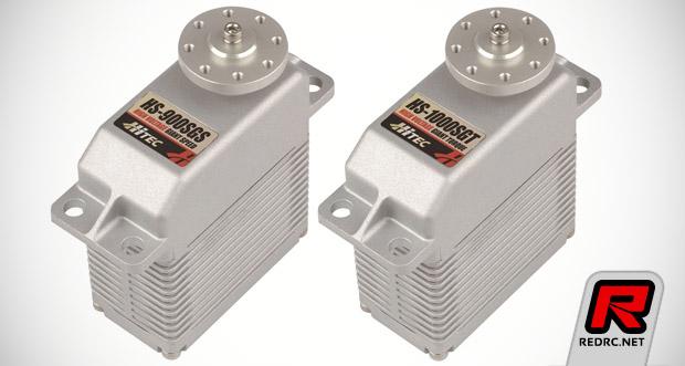 Hitec HS-900SGS & HS-1000SGT servos