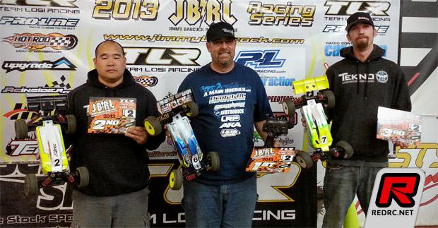 Baker & Olson win at JBRL Rd2