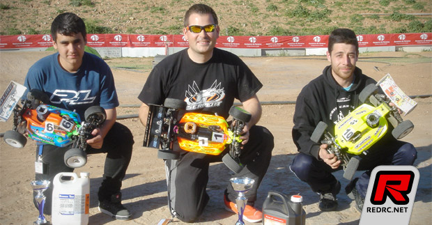 Alberto Garcia wins Madrid Champs Rd3