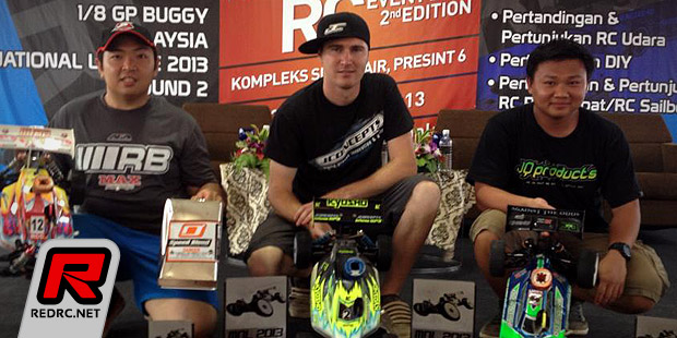 Zac Ryan wins Malaysian buggy nats Rd2