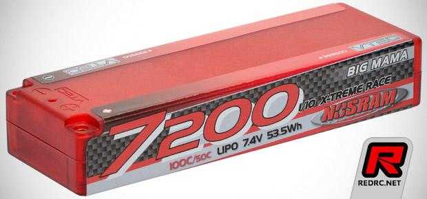 Nosram X-Treme Race LiPo batteries