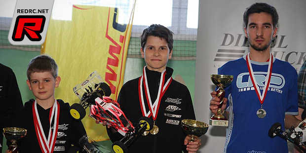 Michal Orlowski doubles at Polish Indoor Off-Road champs