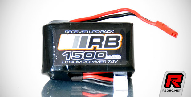 RB micro receiver battery pack