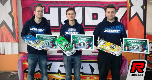 Hagberg & Cerny winners at Xray Challenge Italy