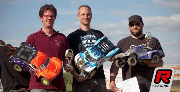 Evens & Robert win Belgian SCT Cup Rd1