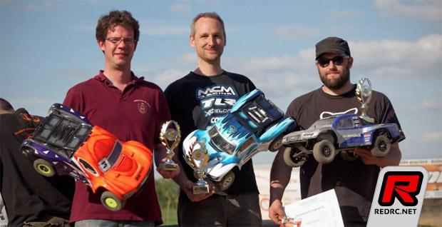 Evens & Robert win Belgian SCT Cup Rd1