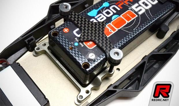 Exotek TLR22 battery hold system
