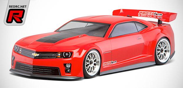 Protoform Chevy Camaro Zl1 Shell Red Rc Rc Car News