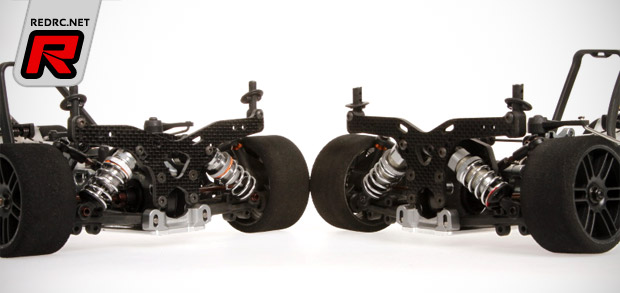 Serpent 747 lower front & rear shock towers