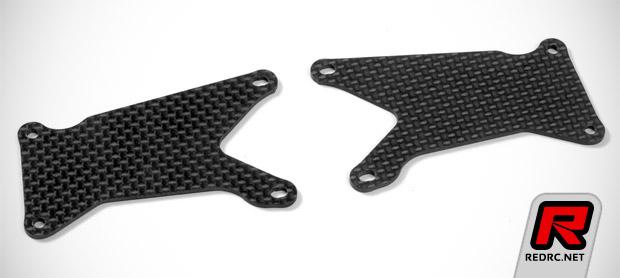 Xray XB9 graphite lower arm plates