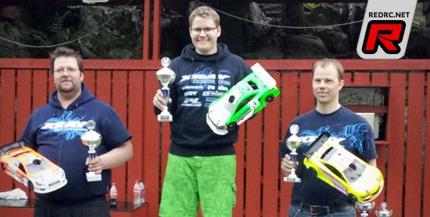 Markus Hellquist is 1/10th Nordic Champion 2013