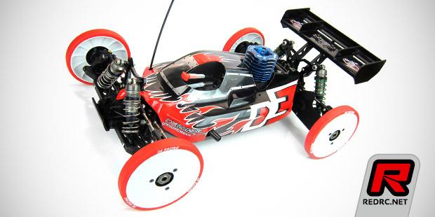DE Racing 1/8th & 1/10th setup wheels - Red RC