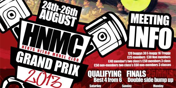 HNMC Grand Prix - Announcement