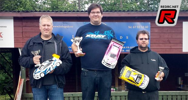 Thomas Holmesland wins Rd2 in Norway