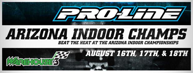 Pro-Line Arizona Indoor Champs - Announcement