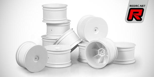 Xray XB4 white Aerodisk wheels