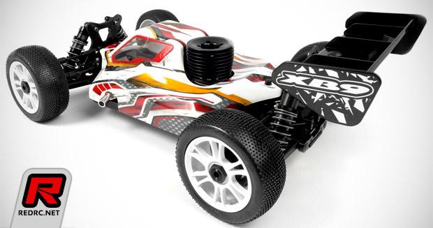 Xray XB9 low-downforce body