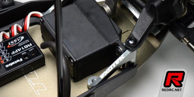 Exotek TLR 22 alloy servo mount set