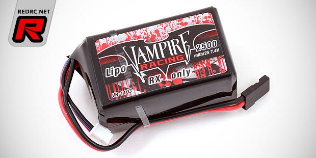Vampire Racing 2S LiPo receiver battery packs