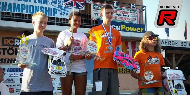 Alex Thurston is 200mm Junior European champion
