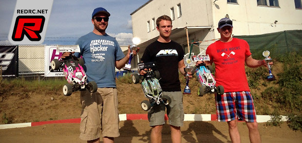Carsten Keller wins German 8th E-Buggy nats warm-up