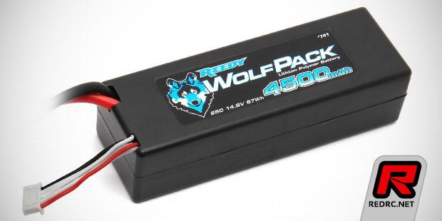 Reedy WolfPack 4S 4500mAh 25C LiPo battery