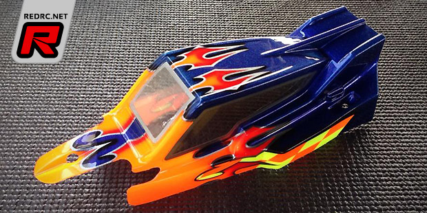 TLR 22 2.0 cab forward body shell & wing set
