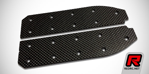 Vision Racing SC10 carbon chassis stiffener