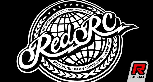 "Exclusive Red RC ""Global"" graphic tee by P1 Brand"