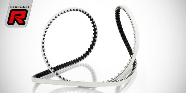 Xray T4 low-friction 'white' kevlar belts