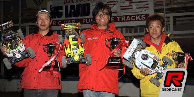 Atsushi Kawamoto wins JMRCA 1/8th buggy nats